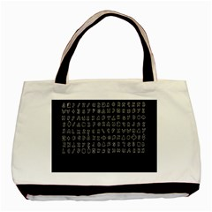Zodiac Killer  Basic Tote Bag (two Sides) by Valentinaart