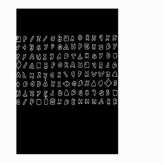 Zodiac Killer  Large Garden Flag (two Sides) by Valentinaart
