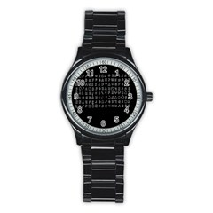 Zodiac Killer  Stainless Steel Round Watch by Valentinaart