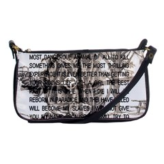 Zodiac Killer  Shoulder Clutch Bags by Valentinaart