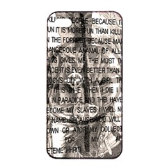 Zodiac Killer  Apple Iphone 4/4s Seamless Case (black) by Valentinaart