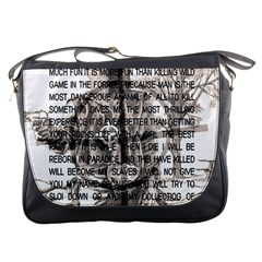 Zodiac Killer  Messenger Bags by Valentinaart