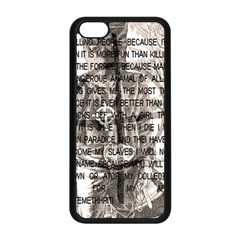 Zodiac Killer  Apple Iphone 5c Seamless Case (black) by Valentinaart