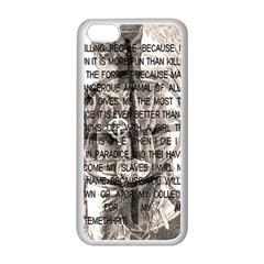 Zodiac Killer  Apple Iphone 5c Seamless Case (white) by Valentinaart
