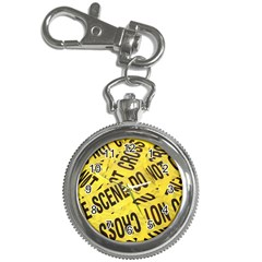 Crime Scene Key Chain Watches by Valentinaart