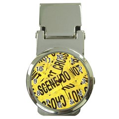 Crime Scene Money Clip Watches by Valentinaart