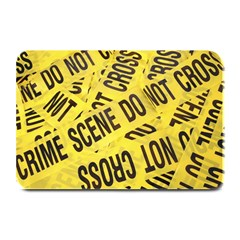 Crime Scene Plate Mats by Valentinaart