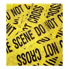 Crime Scene Shower Curtain 66  X 72  (large)  by Valentinaart
