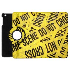 Crime Scene Apple Ipad Mini Flip 360 Case by Valentinaart