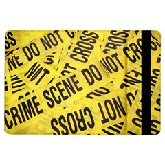 Crime Scene Ipad Air Flip by Valentinaart