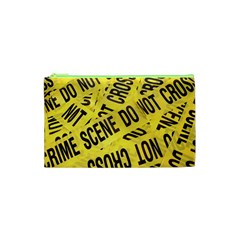 Crime Scene Cosmetic Bag (xs) by Valentinaart