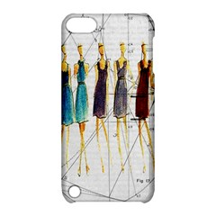 Fashion Sketch  Apple Ipod Touch 5 Hardshell Case With Stand by Valentinaart