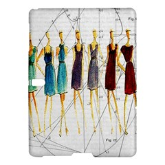 Fashion Sketch  Samsung Galaxy Tab S (10 5 ) Hardshell Case  by Valentinaart