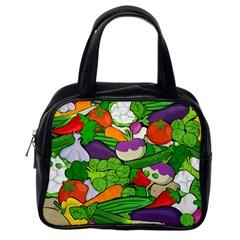 Vegetables  Classic Handbags (one Side) by Valentinaart