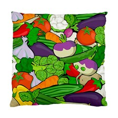 Vegetables  Standard Cushion Case (one Side) by Valentinaart