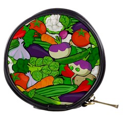 Vegetables  Mini Makeup Bags by Valentinaart