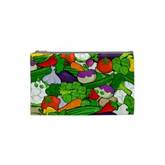 Vegetables  Cosmetic Bag (small)  by Valentinaart