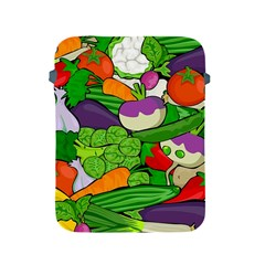 Vegetables  Apple Ipad 2/3/4 Protective Soft Cases by Valentinaart