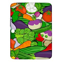 Vegetables  Samsung Galaxy Tab 3 (10 1 ) P5200 Hardshell Case  by Valentinaart