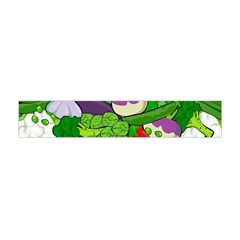 Vegetables  Flano Scarf (mini) by Valentinaart