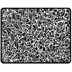 Pattern Double Sided Fleece Blanket (medium)  by Valentinaart