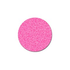 Pink Pattern Golf Ball Marker (10 Pack) by Valentinaart