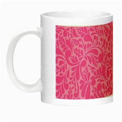 Pink Pattern Night Luminous Mugs by Valentinaart