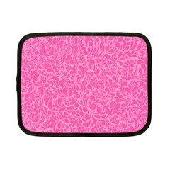 Pink Pattern Netbook Case (small)  by Valentinaart