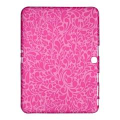 Pink Pattern Samsung Galaxy Tab 4 (10 1 ) Hardshell Case  by Valentinaart