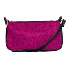 Pink Pattern Shoulder Clutch Bags by Valentinaart