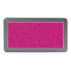 Pink Pattern Memory Card Reader (mini) by Valentinaart