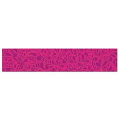 Pink Pattern Flano Scarf (small) by Valentinaart