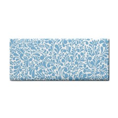 Blue Pattern Cosmetic Storage Cases by Valentinaart