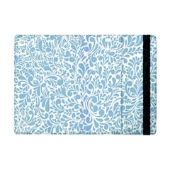 Blue Pattern Apple Ipad Mini Flip Case by Valentinaart