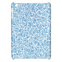 Blue Pattern Apple Ipad Mini Hardshell Case by Valentinaart