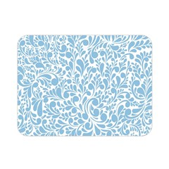 Blue Pattern Double Sided Flano Blanket (mini)  by Valentinaart