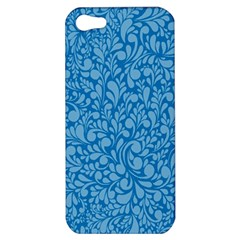 Blue Pattern Apple Iphone 5 Hardshell Case by Valentinaart