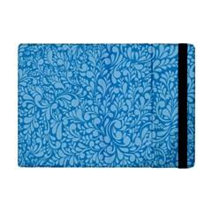 Blue Pattern Ipad Mini 2 Flip Cases by Valentinaart