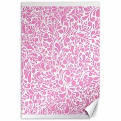 Pink Pattern Canvas 24  X 36  by Valentinaart