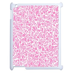 Pink Pattern Apple Ipad 2 Case (white) by Valentinaart