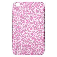 Pink Pattern Samsung Galaxy Tab 3 (8 ) T3100 Hardshell Case  by Valentinaart