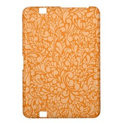 Orange Pattern Kindle Fire Hd 8 9  by Valentinaart