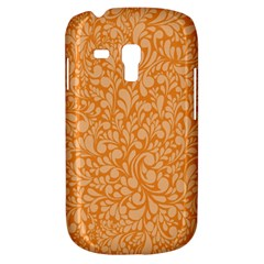 Orange Pattern Galaxy S3 Mini by Valentinaart