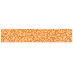 Orange Pattern Flano Scarf (large) by Valentinaart