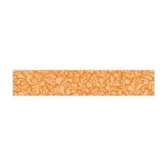 Orange Pattern Flano Scarf (mini) by Valentinaart