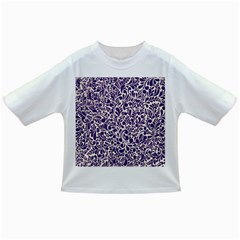 Purple Pattern Infant/toddler T Shirts by Valentinaart