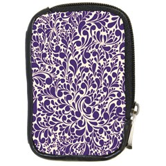 Purple Pattern Compact Camera Cases by Valentinaart