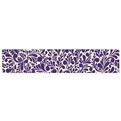 Purple Pattern Flano Scarf (small) by Valentinaart