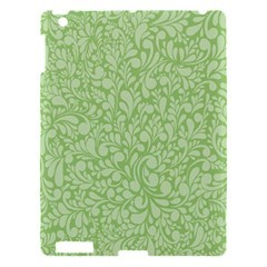 Green Pattern Apple Ipad 3/4 Hardshell Case by Valentinaart