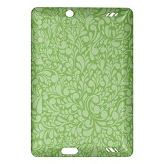 Green Pattern Amazon Kindle Fire Hd (2013) Hardshell Case by Valentinaart